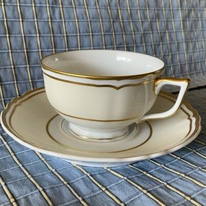 POLKA IVORY A. Raynaud Limoges Cup made in France